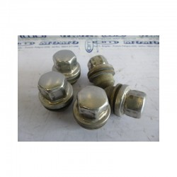 Dadi ruota Land Rover Discovery lung 50,5 - chiave 27 - kit 5 pz - Bulloneria - 1