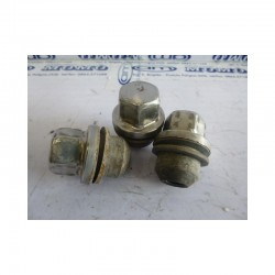 Dadi ruota Land Rover Discovery lung 50,5 - chiave 27 - kit 3 pz - Bulloneria - 1