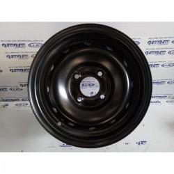 Cerchio in ferro 5,0Jx13H2 ET20 4 fori Peugeot - Citroen. Nuovo - Cerchi in ferro - 1