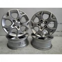 Cerchi in lega 6,5Jx16 ET37 Opel Astra 1 borchia mancante - Cerchi in lega - 1