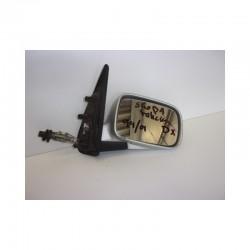 Specchietto manuale retrovisore destro Skoda Felicia colore grigio - Specchietto retrovisore - 1
