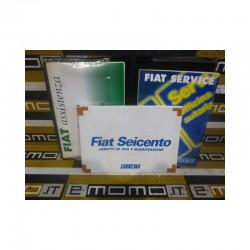 Libretto uso e manutenzione 60345260 Fiat Seicento stampa 2001 - Libretto uso e manutenzione - 1