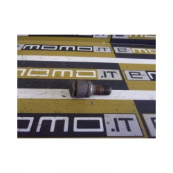 Bullone Ruota Vw Audi Seat Skoda L. 47,5 mm Chiave 17 Kit da 20 Pezzi con 4 antifurto - Bulloneria - 1