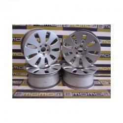 Cerchi in lega 8E0601025AE Audi A4 16x7 ET42 5 fori Set da 4 pezzi - Cerchi in lega - 1