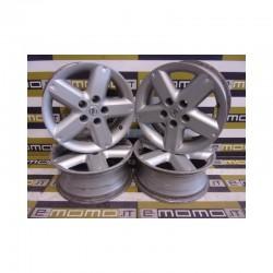 Cerchi in lega Nissan X-Trail 16x6,5 ET40 5 Fori Set da 4 pezzi - Cerchi in lega - 1