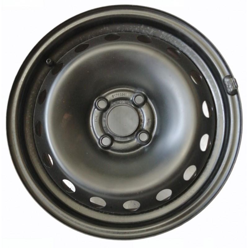 Cerchio in ferro rigenerato 51763241 Fiat Grande Punto 6,5J x 15H2 Et43 4 fori - Cerchi in ferro - 1
