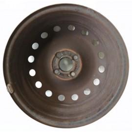 Cerchio in ferro rigenerato 51763241 Fiat Grande Punto 6,5J x 15H2 Et43 4 fori - Cerchi in ferro - 2