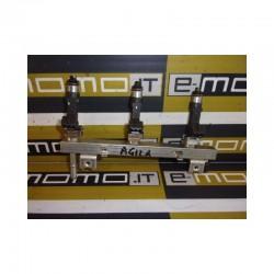 Flauto iniezione completo 0280151207 Opel Agila corsa C 1.0 Benzina - Flauto iniezione - 1