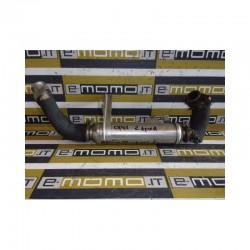 Radiatore gas di scarico 55203716 Fiat Croma 1.9 Mj Opel Zafira - Valvola EGR - 1