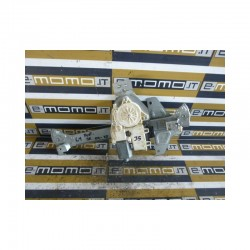 Alzavetro post.Sx. 9647444380 0130822239 Citroen C4 04-10 elettrico - Alzavetro - 1