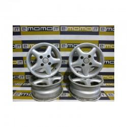 Cerchi in lega Citroen Saxo Peugeot 106 5,5x13 PCD108 ET25 4fori - Cerchi in lega - 1