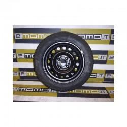 Ruota di scorta 2140681 Opel Agila/ Suzuki Ignis 4,5 x 14 CH ET45 4 fori - Ruota di scorta - 1
