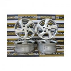 Cerchi in lega cod. SIROCCO Peugeot 206 6Jx15 ET28 4 fori - Cerchi in lega - 1