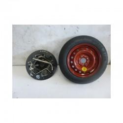 Kit ruota di scorta 46805972 4.50BX13HX35 Fiat Punto 188/Lancia X 135/80 B13 82M 4 Fori - Ruota di scorta - 1
