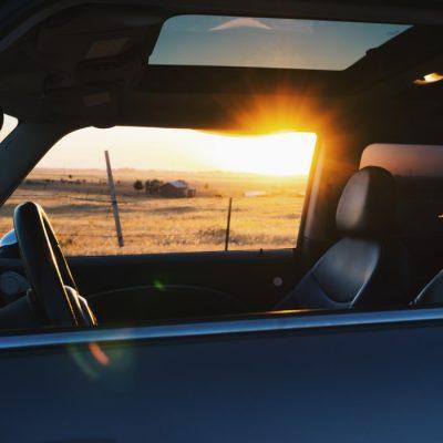 Guidare col caldo
